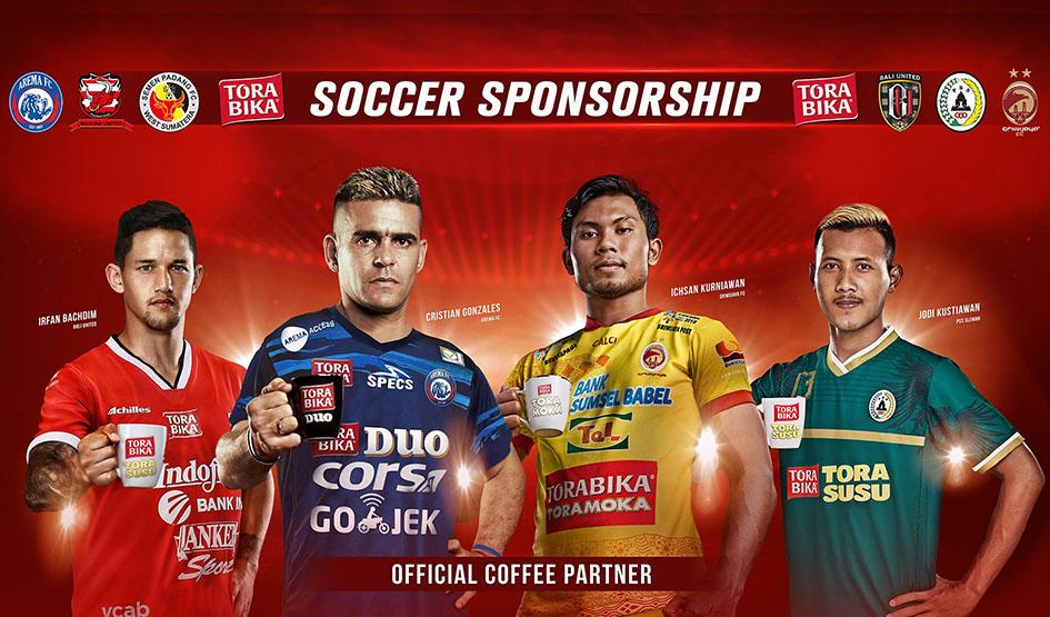 Torabika Stands for Indonesian Football Club